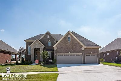 Macomb Single Family Home For Sale: 62558 Sawgrass Dr