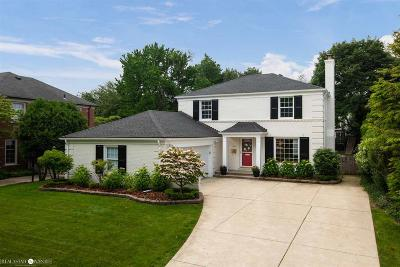 Grosse Pointe Single Family Home For Sale: 595 Lakeland