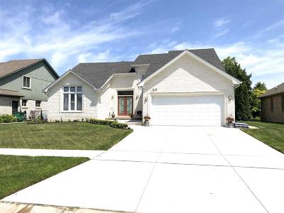 Macomb Twp Single Family Home For Sale: 16459 Trailway