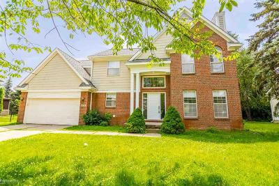 West Bloomfield Single Family Home For Sale: 6775 Long Ave