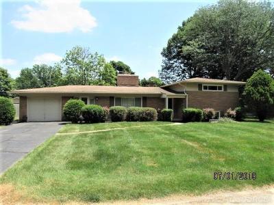 Utica Single Family Home For Sale: 45810 Klingkammer St