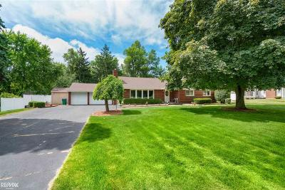 Washington Twp Single Family Home For Sale: 8750 32 Mile Rd