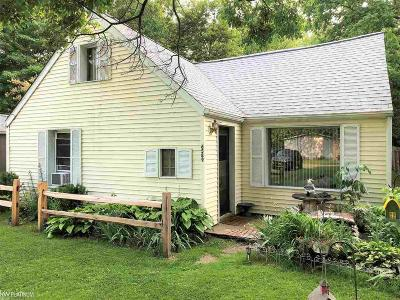 Burtchville Single Family Home For Sale: 6589 Bunker Road