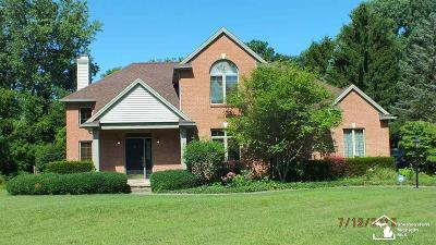 Temperance Single Family Home For Sale: 7545 Bridgeway