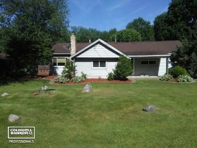 Algonac Single Family Home For Sale: 9558 Lakepointe Blvd