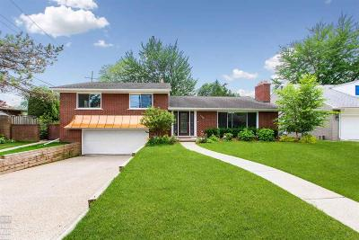 Grosse Pointe Woods Single Family Home For Sale: 469 Cook