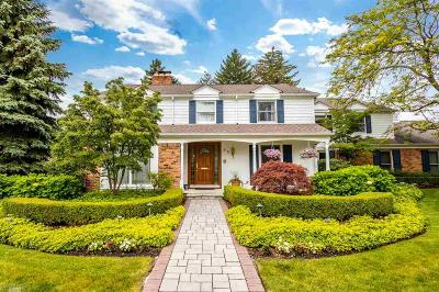 Grosse Pointe Shores MI Single Family Home For Sale: $949,000