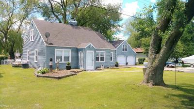 Algonac  Single Family Home For Sale: 6423 Dyke