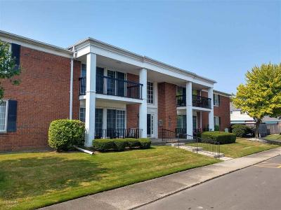 Saint Clair Shores Condo/Townhouse For Sale: 1026 Woodbridge