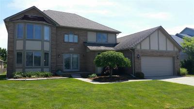 Macomb Twp Single Family Home For Sale: 48558 Farah