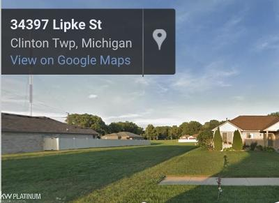 Clinton Township Residential Lots & Land For Sale: 34406 Lipke