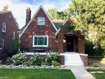 Detroit Single Family Home For Sale: 4118 Yorkshire