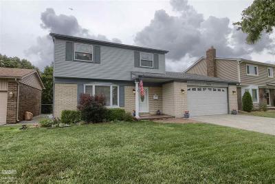 Saint Clair Shores Single Family Home For Sale: 23250 Harmon St