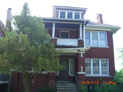 Detroit Multi Family Home For Sale: 1147 Pingree
