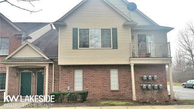 Utica Condo/Townhouse For Sale: 12119 Hidden View Ct
