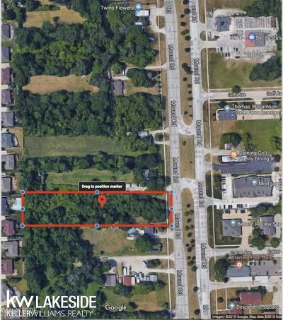 Sterling Heights Residential Lots & Land For Sale: 43437 Mound