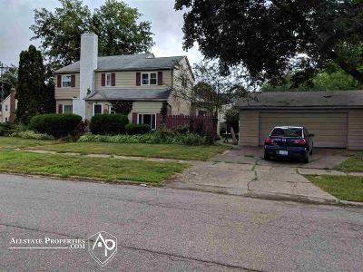 Flint Single Family Home For Sale: 1105 Lafayette