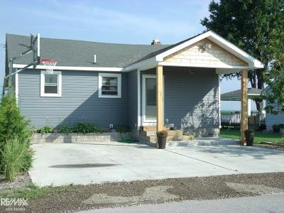 Algonac Single Family Home For Sale: 8646 Anchor Bay Dr