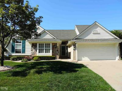 Sterling Heights Condo/Townhouse For Sale: 5765 Woodview