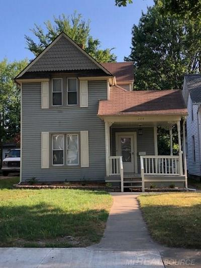 Mount Clemens Single Family Home For Sale: 284 Euclid