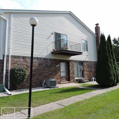 Chesterfield Twp Condo/Townhouse For Sale: 31630 Breezeway