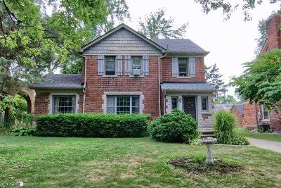 Grosse Pointe Park Single Family Home For Sale: 515 Barrington