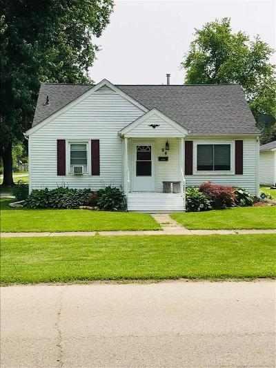 Sandusky MI Single Family Home For Sale: $120,000