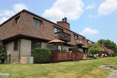 Harrison Twp Condo/Townhouse For Sale: 25350 Quarterdeck