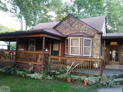 Clay Twp Single Family Home For Sale: 9629 River