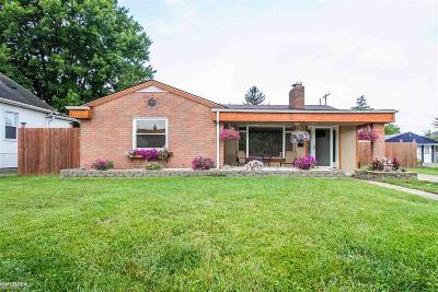 Eastpointe Single Family Home For Sale: 23755 Rein