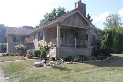 Single Family Home For Sale: 6874 Church