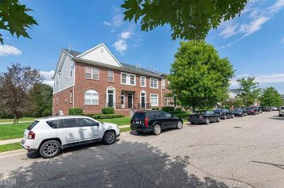 Sterling Heights Condo/Townhouse For Sale: 14363 Vauxhall