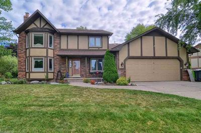 Macomb Single Family Home For Sale: 8743 Springwood Way