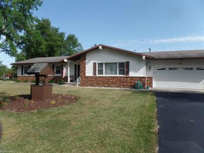 Croswell MI Single Family Home For Sale: $185,000