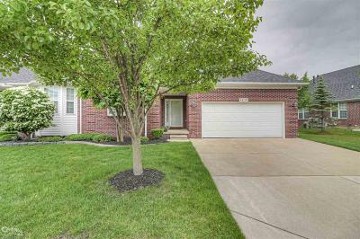Sterling Heights Condo/Townhouse For Sale: 44190 Orion