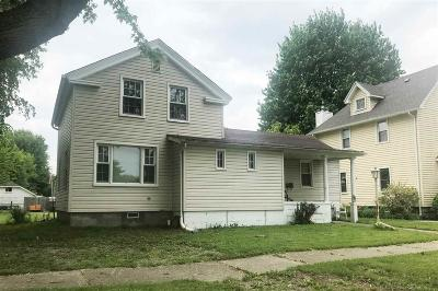 Marine City MI Single Family Home For Sale: $94,500