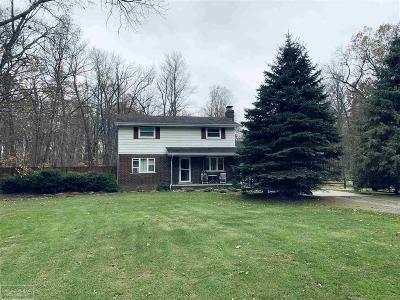 Algonac Single Family Home For Sale: 6425 Benoit