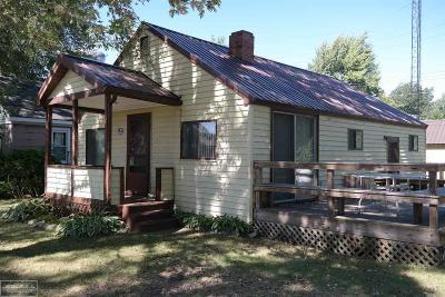 Lexington MI Single Family Home For Sale: $87,800