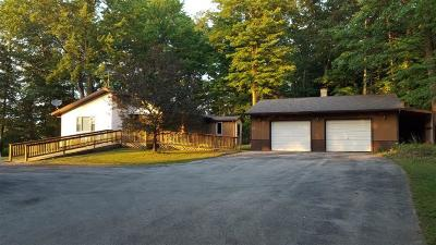 Porterfield WI Single Family Home For Sale: $109,900