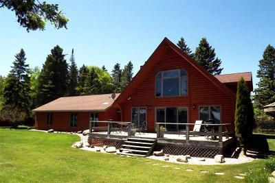 Cedar River MI Single Family Home For Sale: $349,000