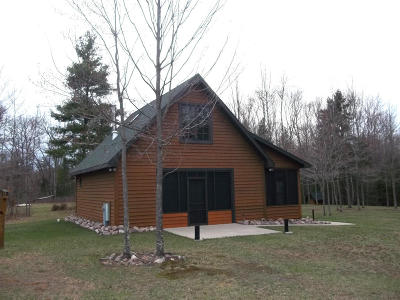 Single Family Home For Sale: W13061 Balsam Lake Road