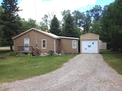Single Family Home For Sale: N11860 Gillis Lane