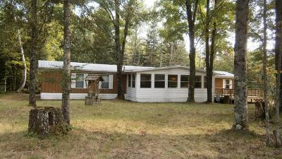 Single Family Home For Sale: W6905 Barker Road
