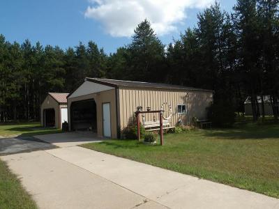 Single Family Home For Sale: N9444 Deer Lake Road