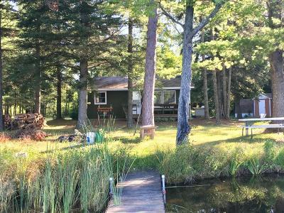 Single Family Home For Sale: N8217 Waboose Lane