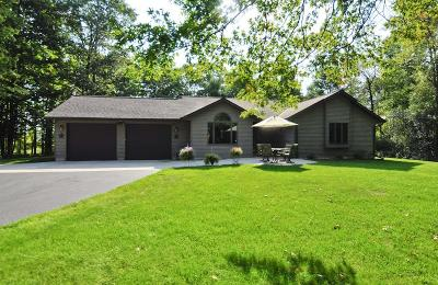 Marinette County Single Family Home For Sale: W1672 River Oaks Drive