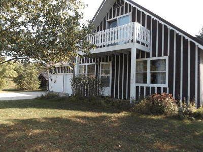 Single Family Home For Sale: N11006 Mud Lake Road