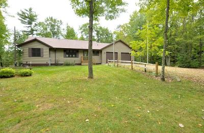 Single Family Home For Sale: N10590 Rasmussen Road