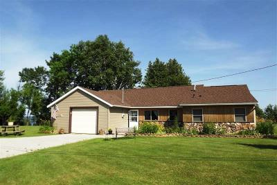 Menominee MI Single Family Home For Sale: $167,900