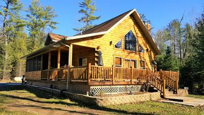 Menominee County Single Family Home For Sale: W10099 Miscauno Island Lane